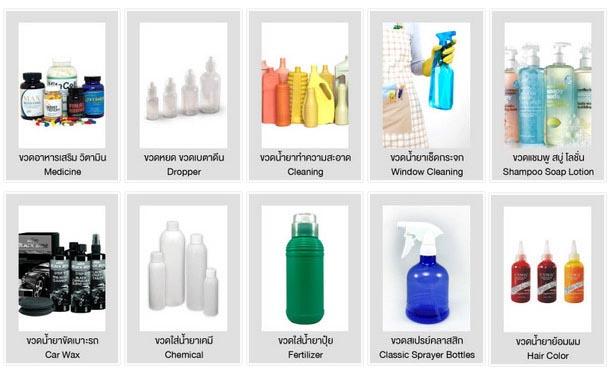 ขวดพลาสติก-บรรจุภัณฑ์