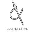 ปั๊มสูบฉีด Siphon Pumps