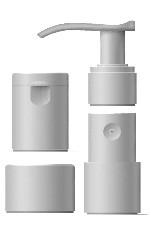 หัวปั๊ม, หัวสเปรย์ และ ฝาปิด Pumps, Mist Sprayers, and Bottle Caps