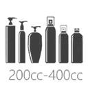 ขวดพลาสติกขนาด 200cc-400cc