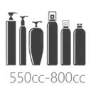 ขวดพลาสติกขนาด 550cc-800cc
