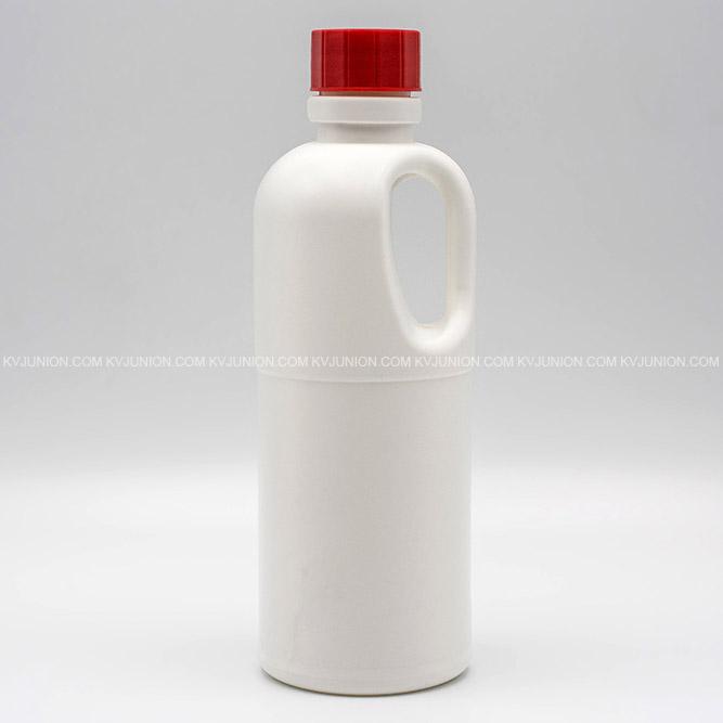 ขวดหูหิ้ว ขวดพลาสติกใส่สารเคมี 500cc (2)