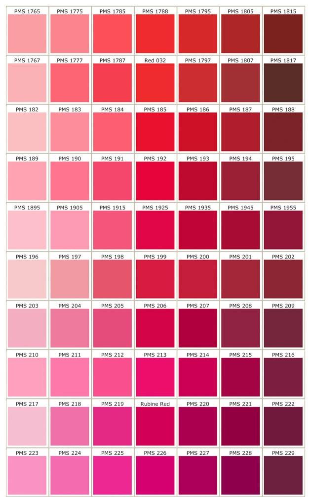 ตารางสีสำหรับพลาสติก (3)