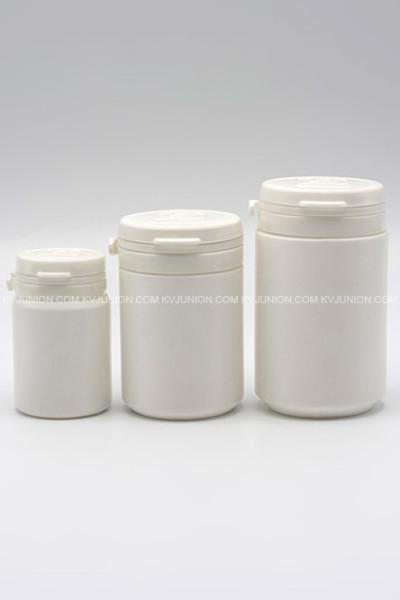 MP53CM ขวดยาเม็ด ฝาฉีก 40 กรัม 80 กรัม 120 กรัม มีโลโก้นูนบนฝา (1)