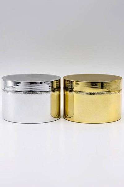 MP60CM กระปุกพลาสติกชุบทอง ชุบเงิน เงาและด้าน (1)