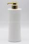 MP72CM ขวดปั๊มครีมขาวเงา พร้อมปั๊มทองเงา (2)